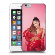 Official Ariana Grande Dangerous Woman Red Leather Hard Back Case For Apple Iphone 6 Plus / 6S Plus