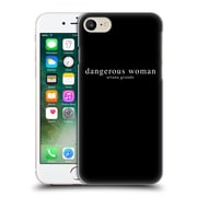 Official Ariana Grande Dangerous Woman Text Hard Back Case For Apple Iphone 7