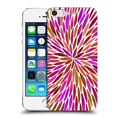 Official Cat Coquillette Mandala Burts Pink Hard Back Case For Apple Iphone 5 / 5S / Se