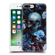 Official Burcu Korkmazyurek Skulls Flowers Hard Back Case For Apple Iphone 7 Plus