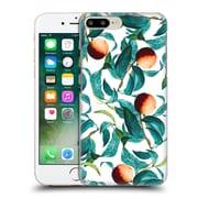 Official Burcu Korkmazyurek Tropical Fruit And Leaf Hard Back Case For Apple Iphone 7 Plus