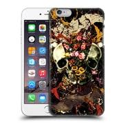 Official Burcu Korkmazyurek Skulls Floral Ii Hard Back Case For Apple Iphone 6 Plus / 6S Plus
