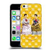 Official Frida Kahlo Self-Portraits Yellow Background Soft Gel Case For Apple Iphone 5C