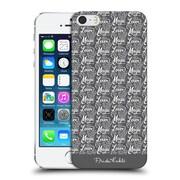 Official Frida Kahlo Typography Lover Grey Hard Back Case For Apple Iphone 5 / 5S / Se