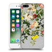 Official Burcu Korkmazyurek Floral 2 Points And Flowers Hard Back Case For Apple Iphone 7 Plus