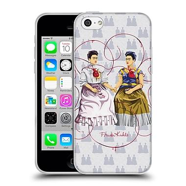 Official Frida Kahlo Self-Portraits White Background Soft Gel Case For Apple Iphone 5C