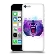 Official Chobopop Animals Lilac Geometric Bear Hard Back Case For Apple Iphone 5C