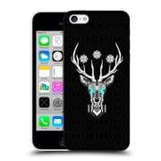 Official Chobopop Animals Silver Stag Hard Back Case For Apple Iphone 5C