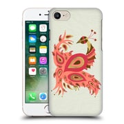 Official Cat Coquillette Birds Peacock Pink Hard Back Case For Apple Iphone 7