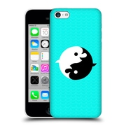 Official Chobopop Animals Yin Yang Dolphins Hard Back Case For Apple Iphone 5C