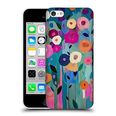 Official Carrie Schmitt Florals Nurture Your Soul Hard Back Case For Apple Iphone 5C