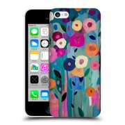 Official Carrie Schmitt Florals Nurture Your Soul Hard Back Case For Apple Iphone 5C