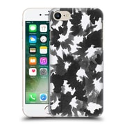Official Caitlin Workman Black And White Watercolour Floral Hard Back Case For Apple Iphone 7