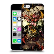 Official Burcu Korkmazyurek Skulls Floral Ii Hard Back Case For Apple Iphone 5C