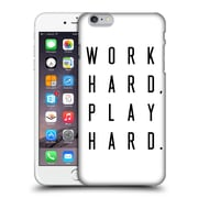 Official Caitlin Workman Typography Work Hard Play Hard Hard Back Case For Apple Iphone 6 Plus / 6S Plus