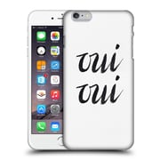 Official Caitlin Workman Typography Oui Oui Hard Back Case For Apple Iphone 6 Plus / 6S Plus