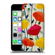 Official Carrie Schmitt Florals Cheerful Poppies Hard Back Case For Apple Iphone 5C
