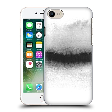 Official Caitlin Workman Black And White Horizon Hard Back Case For Apple Iphone 7