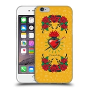 Official Frida Kahlo Icons Heart And Roses Soft Gel Case For Apple Iphone 6 / 6S