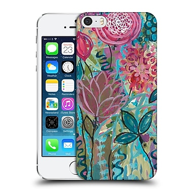 Official Carrie Schmitt Florals Persistence Hard Back Case For Apple Iphone 5 / 5S / Se