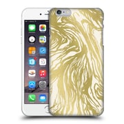 Official Caitlin Workman Patterns Marble Gold Hard Back Case For Apple Iphone 6 Plus / 6S Plus