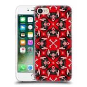 Official Chobopop Animals Bat Face Pattern Hard Back Case For Apple Iphone 7