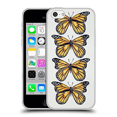 Official Cat Coquillette Insects Orange Butterfly Soft Gel Case For Apple Iphone 5C
