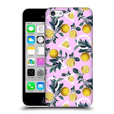 Official Burcu Korkmazyurek Tropical Geometric And Lemon Hard Back Case For Apple Iphone 5C