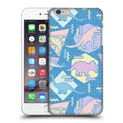 Official Chobopop Dinosaurs 90'S Pastel Hard Back Case For Apple Iphone 6 Plus / 6S Plus