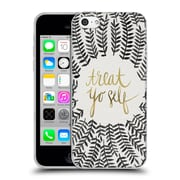 Official Cat Coquillette Treat Yo Self Grey Soft Gel Case For Apple Iphone 5C