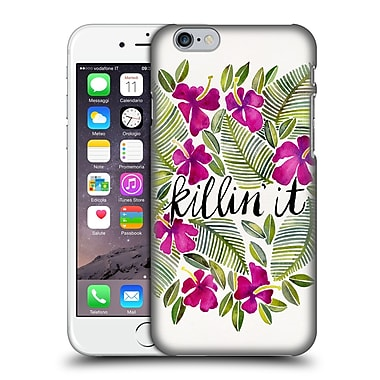 Official Cat Coquillette Quotes Typography 4 Killin' It Pink Hard Back Case For Apple Iphone 6 / 6S