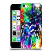 Official Caleb Troy Vivid Technicolour Zebra Hard Back Case For Apple Iphone 5C