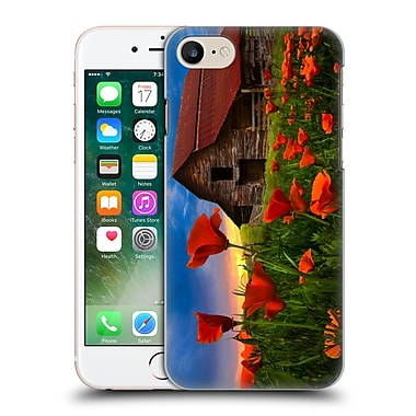Official Celebrate Life Gallery Landscape Barn In Poppies Hard Back Case For Apple Iphone 7