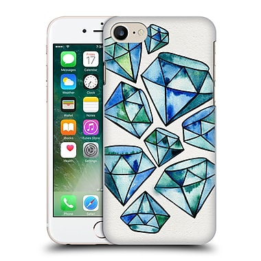 Official Cat Coquillette Watercoloured Gems Sapphire Tattoos Hard Back Case For Apple Iphone 7