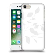 Official Caitlin Workman Organic Spring Leaf Grey White Hard Back Case For Apple Iphone 7