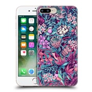 Official Celandine Tropical Pattern Stand Out Electric Blue Hard Back Case For Apple Iphone 7 Plus