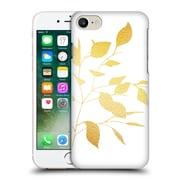 Official Caitlin Workman Organic Spring Leaf Gold Hard Back Case For Apple Iphone 7