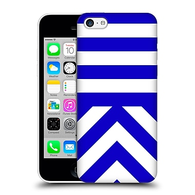 Official Caitlin Workman Modern Blue 03 Hard Back Case For Apple Iphone 5C