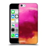 Official Caleb Troy Vivid Ruby Watercolour Hard Back Case For Apple Iphone 5C