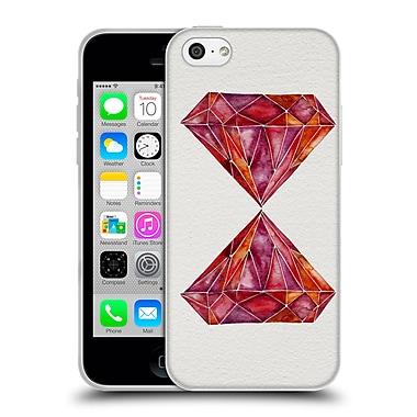 Official Cat Coquillette Watercoloured Gems Ruby Soft Gel Case For Apple Iphone 5C