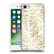 Official Caitlin Workman Organic Foliage Gold Hard Back Case For Apple Iphone 7