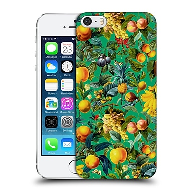 Official Burcu Korkmazyurek Tropical Fruit Pattern Hard Back Case For Apple Iphone 5 / 5S / Se
