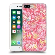 Official Celandine Tropical Pattern Stand Out Pink Pastel Hard Back Case For Apple Iphone 7 Plus