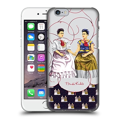 Official Frida Kahlo Self-Portraits Pattern Mix Blue Hard Back Case For Apple Iphone 6 / 6S