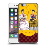 Official Frida Kahlo Self-Portraits Pattern Mix Red Hard Back Case For Apple Iphone 6 / 6S