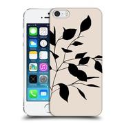 Official Caitlin Workman Organic Spring Leaf Tan Hard Back Case For Apple Iphone 5 / 5S / Se