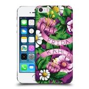 Official Frida Kahlo Purple Florals Lace Hard Back Case For Apple Iphone 5 / 5S / Se