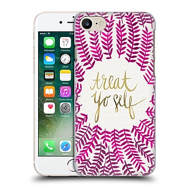 Official Cat Coquillette Treat Yo Self Pink Hard Back Case For Apple Iphone 7