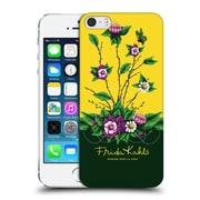 Official Frida Kahlo Purple Florals Shrub Hard Back Case For Apple Iphone 5 / 5S / Se