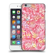 Official Celandine Tropical Pattern Stand Out Pink Pastel Hard Back Case For Apple Iphone 6 Plus / 6S Plus